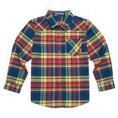 『小鱷魚童裝』格紋襯衫(08號~18號)530108