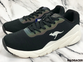 KangaROOS 男款黑白色運動鞋-NO.KM91081