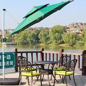 庭院傘太陽傘沙灘傘摺疊大型廣告傘擺攤傘防曬防紫外線 igo 樂活生活館