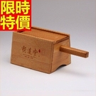 艾灸器具 艾草針灸盒-竹製雙孔盒溫隨身灸盒多功能65j16【時尚巴黎】