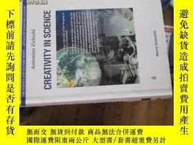 二手書博民逛書店c0012精裝creativity罕見in science 6t