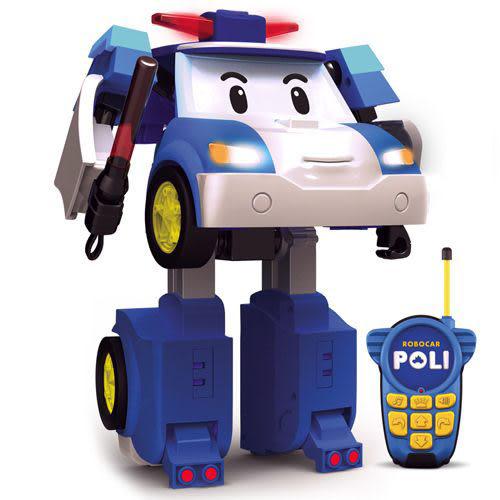 《 POLI 波力 》10 吋遙控變形波力 ╭★ JOYBUS玩具百貨
