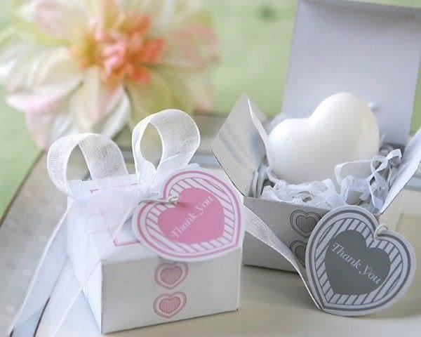 歐美婚禮小物---甜蜜心皂甜心香皂禮盒  送客禮 開幕禮 探房禮/份