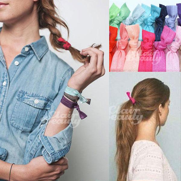 髮帶 韓劇同款緞帶手環髮圈【AO2441】☆雙兒網☆51~90
