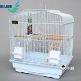 鳥籠 虎皮鸚鵡籠子大號小太陽玄鳳牡丹鸚鵡繁殖鳥籠大型金屬八哥XW 快速出貨