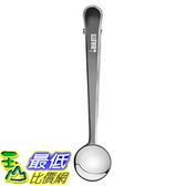[美國直購] Bialetti 6736 2-in-1 Stainless Steel Coffee Scoop and Bag Clip, Silver 咖啡匙 咖啡勺(含袋夾)