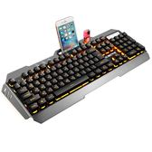鍵盤機械手感有線臺式電腦牧馬人曼巴狂蛇家用游戲外接騷男外設店 愛麗絲精品igo