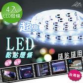 【Incare】居家戶外黏貼式LED燈(4入超值組)