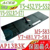 ACER AP13B3K 電池(保固最久)-宏碁 AP13B8K,V5-552電池,V5-552G,V5-552P,V5-552PG,V5-572電池,V5-572G