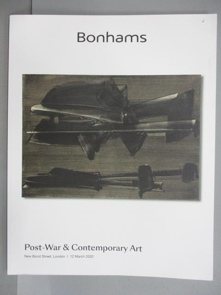 【書寶二手書T9/收藏_FOR】Bonhams_Post War & Contemporary Art_2020/3/12