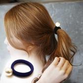 單顆大珍珠無接縫髮束(1卡3入)-121201-pipima