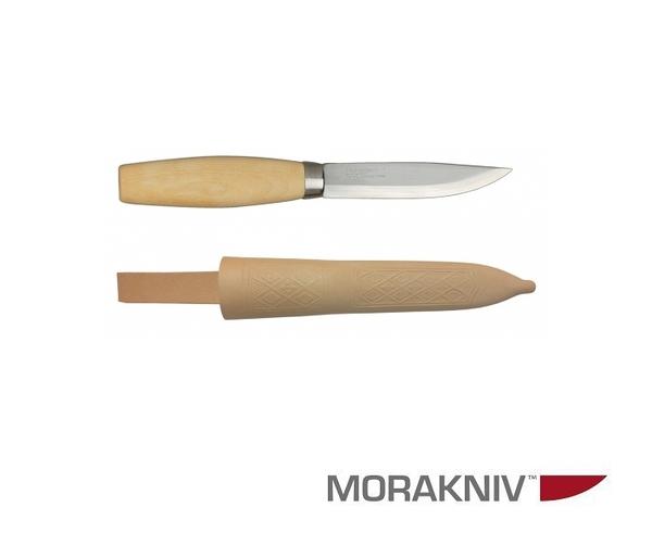 丹大戶外用品【MORAKNIV】瑞典ORIGINAL 1 EXCLUSIVE 層壓鋼經典木工刀 原木色 11934