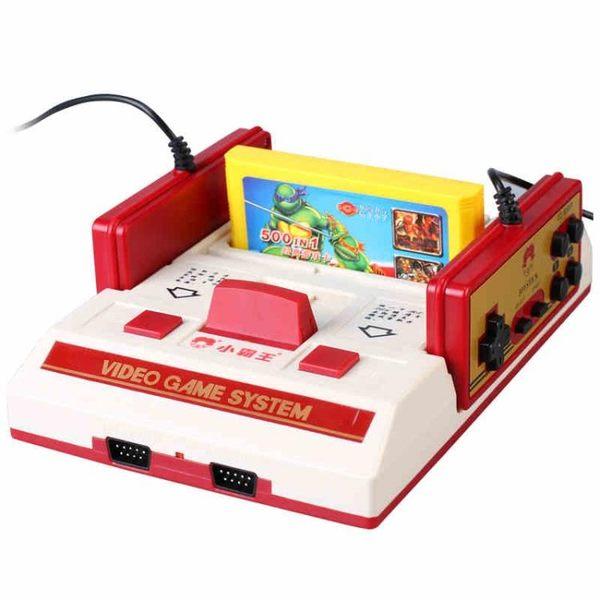 紅白插卡遊戲機 小霸王游戲機家用高清HDMI電視插卡懷舊款老式FC任天堂迷你紅白機·享家生活館