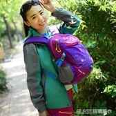 戶外雙肩包女登山包超輕便運動休閒旅行出游徒步防水小背包igo    琉璃美衣