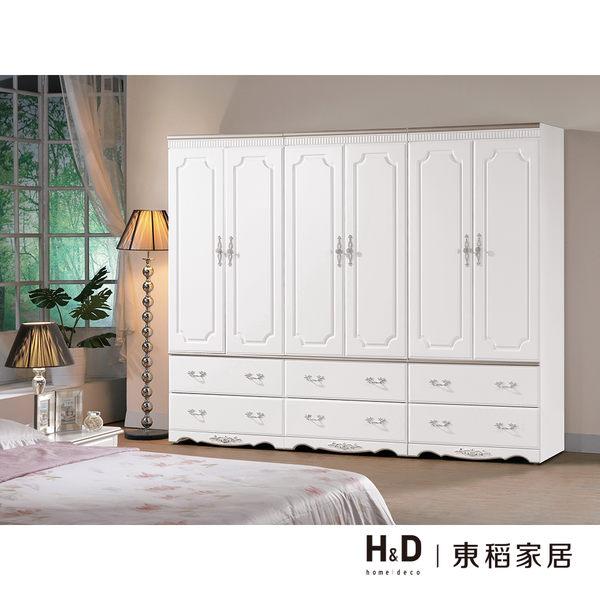 衣櫃/衣櫥 諾維雅8尺組合衣櫥(18CM/117-1)【DD House】