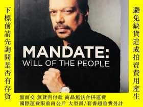 二手書博民逛書店Mandate:罕見Will of The PeopleY274