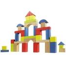 《 德國 HAPE 愛傑卡 》彩色創意積木組(50塊) ╭★ JOYBUS玩具百貨