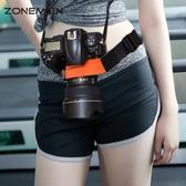相機腰帶 單反相機固定腰帶戶外攝影登山腰帶 騎行腰包帶數碼攝影器材配件聖誕節