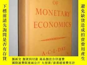 二手書博民逛書店Outline罕見of Monetary Economics 貨