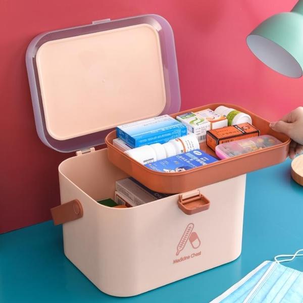 箱 家用箱急救護品收納盒小型大容量家庭裝空箱特大號 宜品居家
