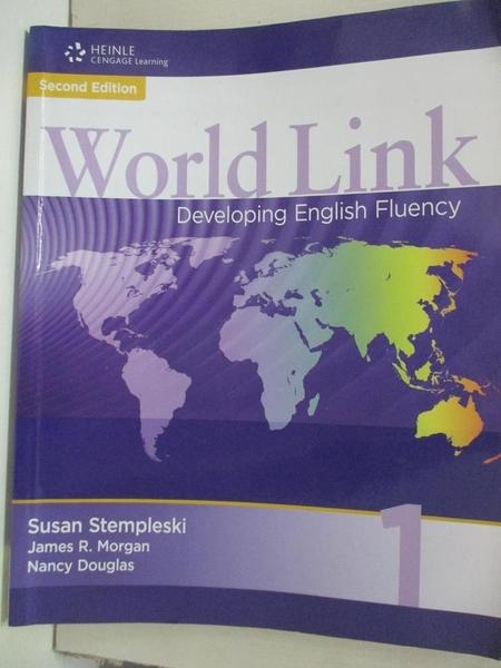 【書寶二手書T2/語言學習_EKI】World Link-Developing English Fluency_Susan Stempleski, etc
