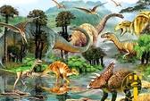 木質拼圖1000片成人拼圖減壓大型益智玩具恐龍世界【雲木雜貨】