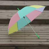 【新年鉅惠】小號加大迷你版天雨傘透明塑料加厚防雨大號防水長款雙人潮流