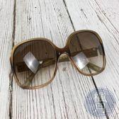 BRAND楓月 LOEWE SLW728 淺咖啡色 棕色 時尚太陽眼鏡 墨鏡