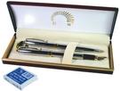 《享亮商城》A-0653 亮鉻高級鋼筆 對筆 巨倫