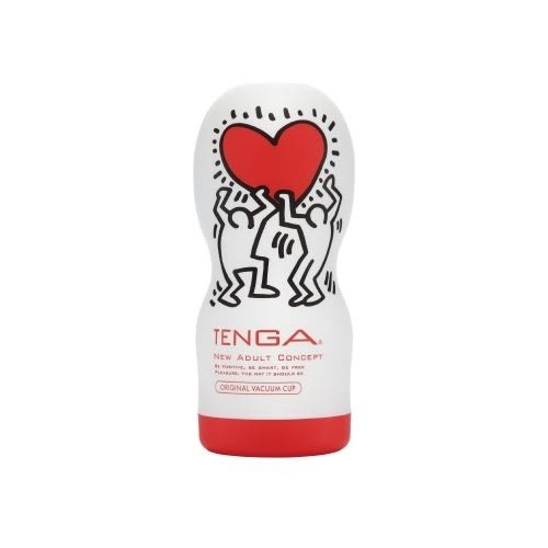 情趣用品-日本TENGA x 美國Keith Haring 真空吸吮口交杯 Original Vacuum Cup Special Edition KHC-101