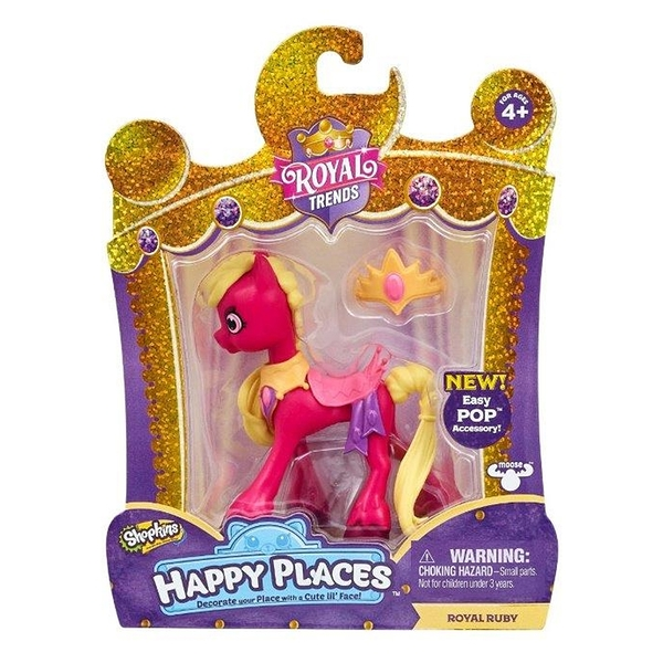 HAPPY PLACES ROYAL TRENDS-SHOPKINS 皇宮時尚驚喜派對 RUBY 小馬