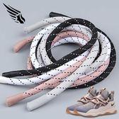 適配NIKE男女款city loop櫻花粉彩色黑白點原裝網紅韓版圓粗鞋帶 黛尼時尚精品