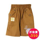 【愛的世界】鬆緊帶純棉短褲/2歲-台灣製- ★春夏下著
