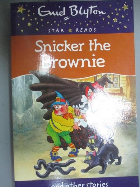 【書寶二手書T3/原文小說_GTE】Snicker the Brownie_Enid Blyton