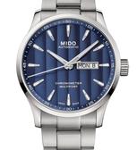 MIDO美度錶Multifort Chronometer天文台自動機械錶(M0384311104100)藍面/鋼帶/42mm