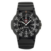 海豹部隊經典系列 經典腕錶-IP黑x白時標/43mm LUMINOX 雷明時