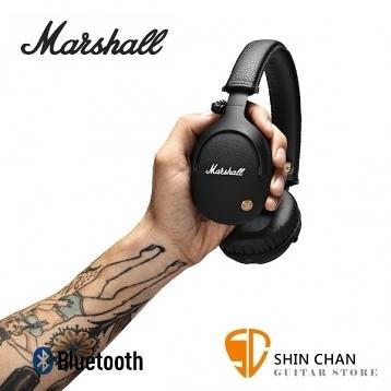 【缺貨】英國 Marshall Monitor Bluetooth 藍牙監聽級耳機(經典黑) 封閉全罩式 贈原廠攜帶袋