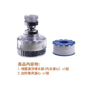 濾淨增壓型萬向導水器組(加附濾心x1)