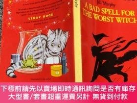 二手書博民逛書店A罕見Bad Spell for the Worst Witch (Young Puffin Story Book