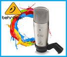 【小麥老師 樂器館】Behringer 耳朵牌 C-1U 電容式 麥克風 錄音 C1U