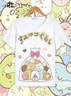 T恤 角落生物二衣服次元動漫周邊童裝可愛貓咪白熊企鵝炸豬排短袖春夏