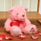 Heart LOVE粉紅小熊-生活工場