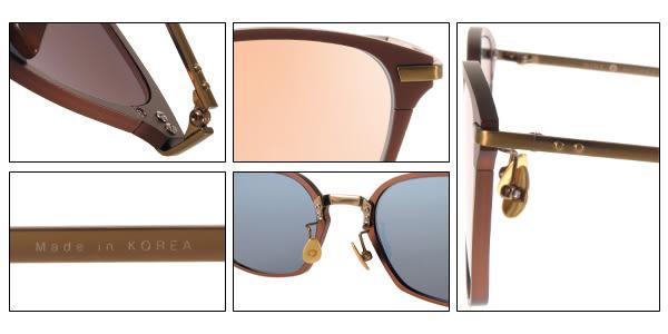 NINE ACCORD 太陽眼鏡 DURALUMIN BEN C02 (銅棕) 韓系別緻百搭水銀鏡面款 # 金橘眼鏡