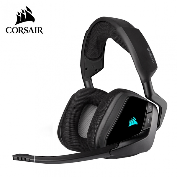 【CORSAIR 海盜船】VOID RGB ELITE USB 有線電競耳麥-黑