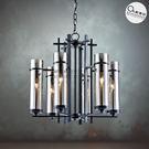 吊燈✦ 現代工業風 長形透光燭燈 6燈✦...