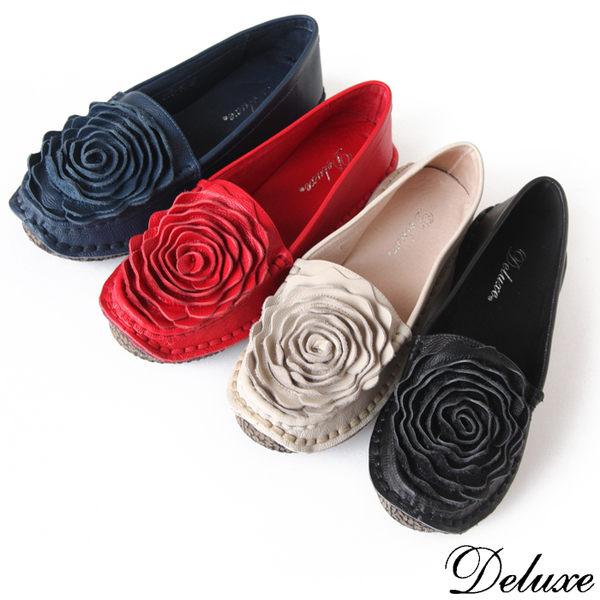 民族風薔薇柔軟休閒鞋
