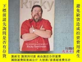 二手書博民逛書店英文原版書罕見RICKY THE BESTSELLING AUTOBIOGRAPHY OF RICKY TOMLI