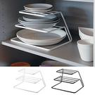 櫥櫃分層架廚房碗碟架瀝水架三層碟子架置物架碗碟收納碗架盤碟架LX交換禮物