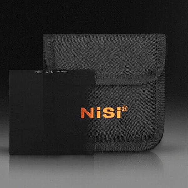 黑熊館 日本 NiSi 超薄 偏振鏡 100x100mm 插片濾鏡 CPL鏡 方形偏振濾光鏡 方鏡方型偏光鏡