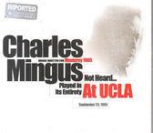 【正版全新CD清倉 4.5折】CHARLES MINGUS : AT UCLA 查理.明格斯 : 洛杉磯加大名演(2CDs)